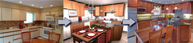 Dream Kitchens Design Process