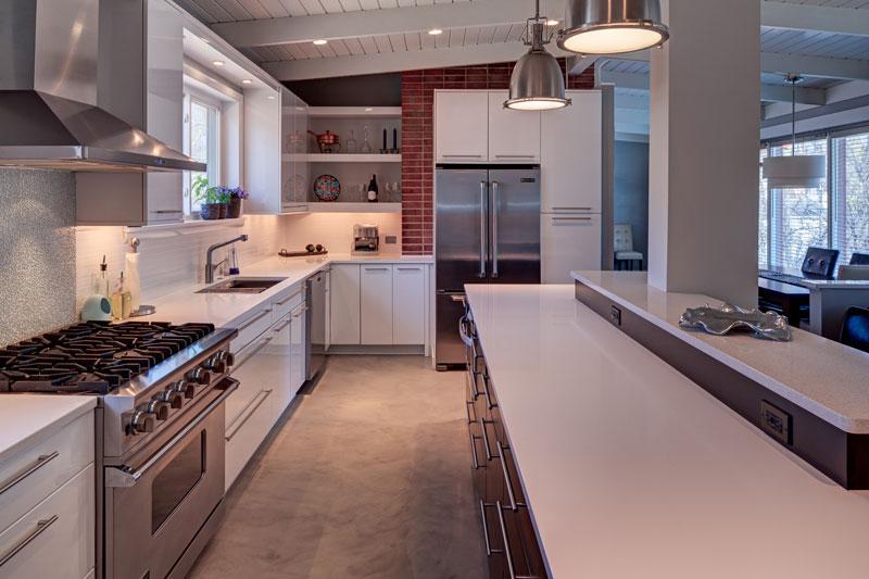Contemporary Kitchen Design Highland Park, IL