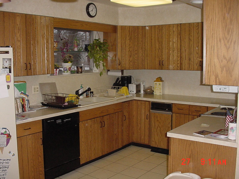 Before   Kosher Kitchen Design With Two Dishwashers, Skokie, IL