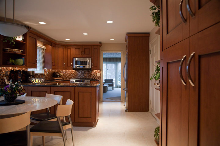 Transitional kitchen design, Wilmette, IL