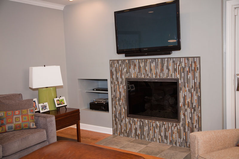 Contemporary Fireplace Northbrook IL