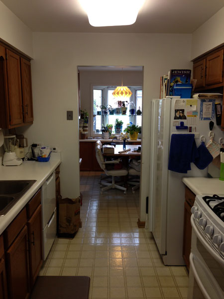 Before Small galley kitchen, Northbrook, IL