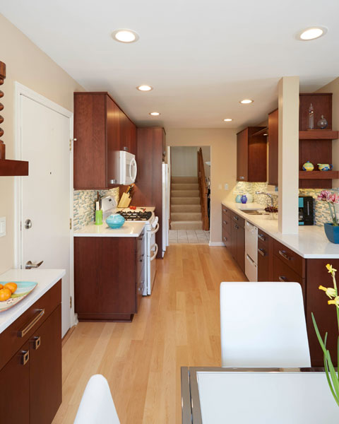 Small galley kitchen, Northbrook, IL