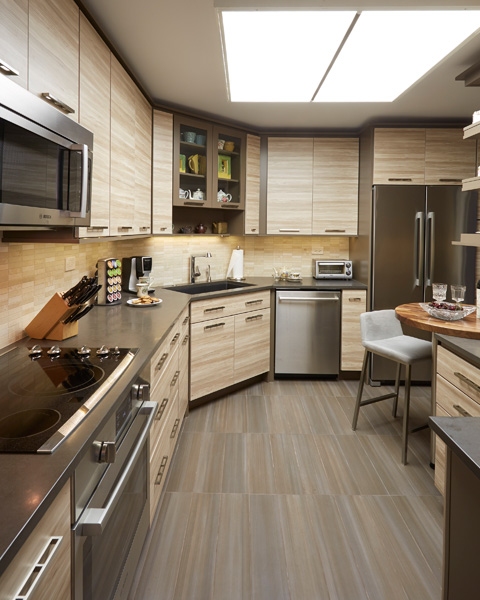 Urban style kitchen in Winnetka IL 1