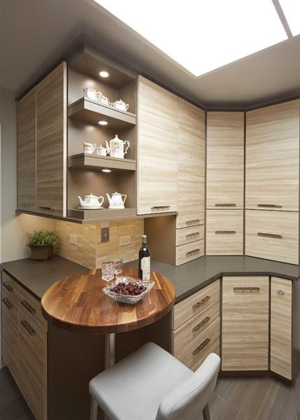 Urban style kitchen in Winnetka IL 4
