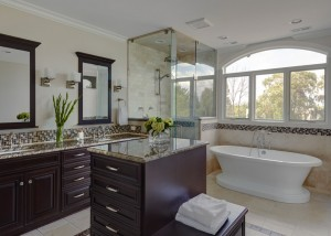 Elegant Traditional Master Bath in Lake Forest, IL