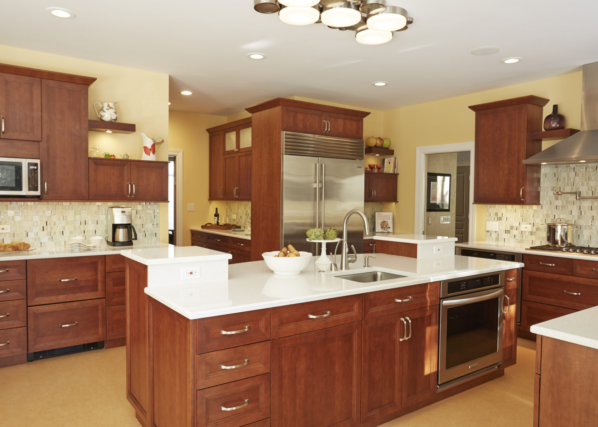 Modern Kosher Kitchen
