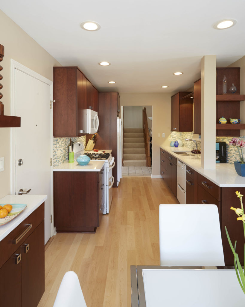 Contemporary Small Galley Kitchen Dream Kitchens