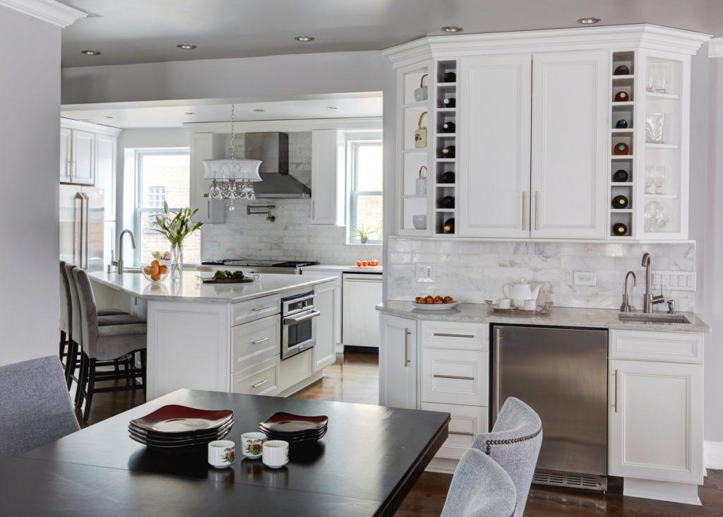 Classic White Kitchen   Dream Kitchens